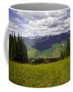 The Hills Are Alive In Vail Coffee Mug