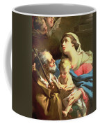 The Holy Family Coffee Mug by Gaetano Gandolfi