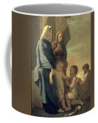 The Holy Family Coffee Mug by Nicolas Poussin