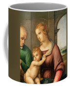 The Holy Family Coffee Mug by Raphael