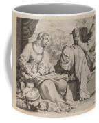 The Holy Family With Saint John The Baptist Coffee Mug