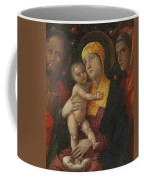 The Holy Family With Saint Mary Magdalen 1500 Coffee Mug