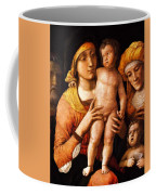 The Holy Family With St Elizabeth And St John The Baptist 1505 Coffee Mug