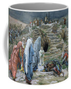 The Holy Women Stand Far Off Beholding What Is Done Coffee Mug