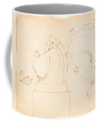 The Horse Of Selene From The Elgin Marbles [recto] Coffee Mug