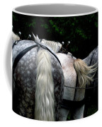The Horses Of Mackinac Island Michigan 04 Coffee Mug