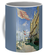 The Hotel Des Roches Noires At Trouville Coffee Mug