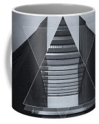 The Hotel Experimental Futuristic Architecture Photo Art In Modern Black And White Coffee Mug
