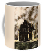 The House From Psycho Coffee Mug