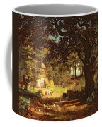 The House In The Woods Coffee Mug by Albert Bierstadt