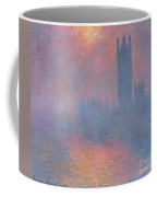 The Houses Of Parliament London Coffee Mug