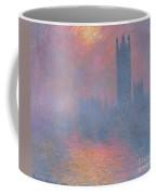 The Houses Of Parliament London Coffee Mug