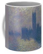 The Houses Of Parliament Stormy Sky Coffee Mug