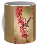 The Hummingbird And The Spring Flowers  Coffee Mug