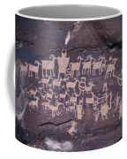The Hunt Scene- Ancient Pueblo-anasazi Coffee Mug by Ira Block