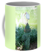 The Hydrant Bird Coffee Mug