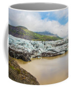 The Ice Wall Iceland Coffee Mug