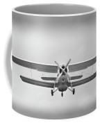 The Image Of A Sport Propeller Airplane In The Sky. Coffee Mug
