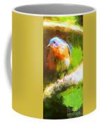 The Impressive Bluebird Coffee Mug