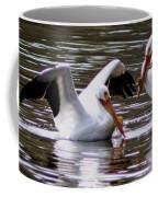 The Impressive Landing Pelican Coffee Mug