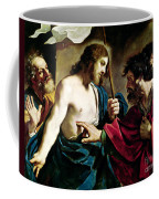 The Incredulity Of Saint Thomas Coffee Mug
