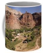 The Indian Village Of Supai Sits Coffee Mug