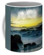 The Infinite Spirit  Tranquil Island Of Twilight Maui Hawaii  Coffee Mug