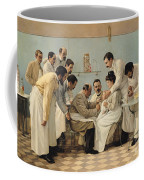 The Insertion Of A Tube Coffee Mug by Georges Chicotot