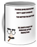 The Inspector  Coffee Mug