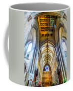 The Interior Of The Southwark Cathedral  Coffee Mug