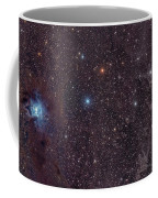 The Iris Nebula In Cepheus Coffee Mug by John Davis