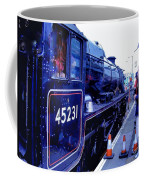 The Jacobite At Mallaig Station Platform 2 Coffee Mug