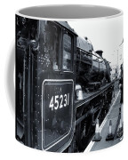 The Jacobite At Mallaig Station Platform 3 Coffee Mug