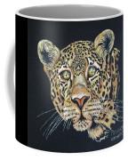 The Jaguar - Acrylic Painting Coffee Mug