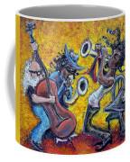 The Jazz Trio Coffee Mug