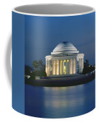 The Jefferson Memorial Coffee Mug by Peter Newark American Pictures