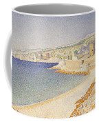 The Jetty At Cassis Coffee Mug