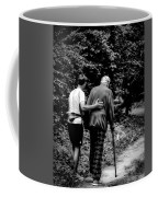 The Journey Bw Coffee Mug