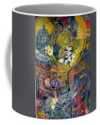 The Journey Coffee Mug by Peggy  Blood