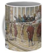 The Judgement On The Gabbatha Coffee Mug