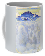 The Jung Frau Above A Sea Of Mist Coffee Mug