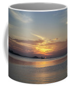 The Junk At Sunset Coffee Mug