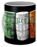 The Keg Room Irish Flag Colors Old English Hunter Green Coffee Mug