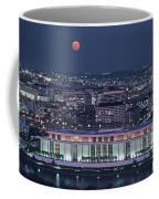 The Kennedy Center Lit Up At Night Coffee Mug by Kenneth Garrett