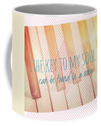 The Key To My Soul Coffee Mug