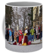 The Kings Of The Democracy. Prague Castle. Prague Spring 2017 Coffee Mug