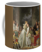 The Kiss Of Protection By The Local Chatelaine  Coffee Mug