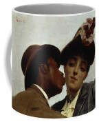 The Kiss Coffee Mug