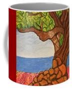 The Labor Day Hamptons Tree Coffee Mug