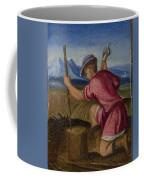 The Labours Of The Months   February Coffee Mug